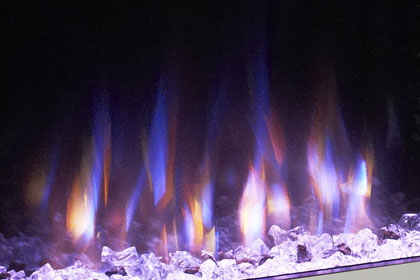 image of flame effect colour Trio