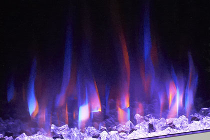 image of flame effect colour Dual