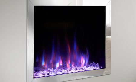 Do electric fireplaces use a lot of electricity