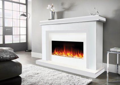 Aria-white-Fireplace