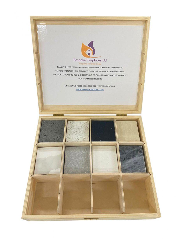 Marble Colour sample box