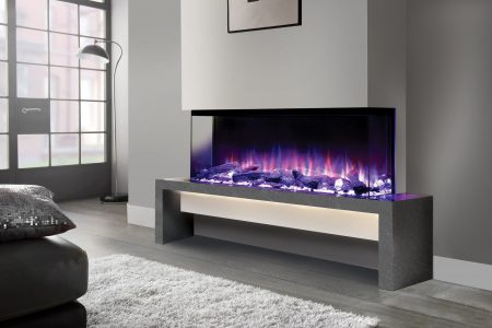Milano Fireplace Bench