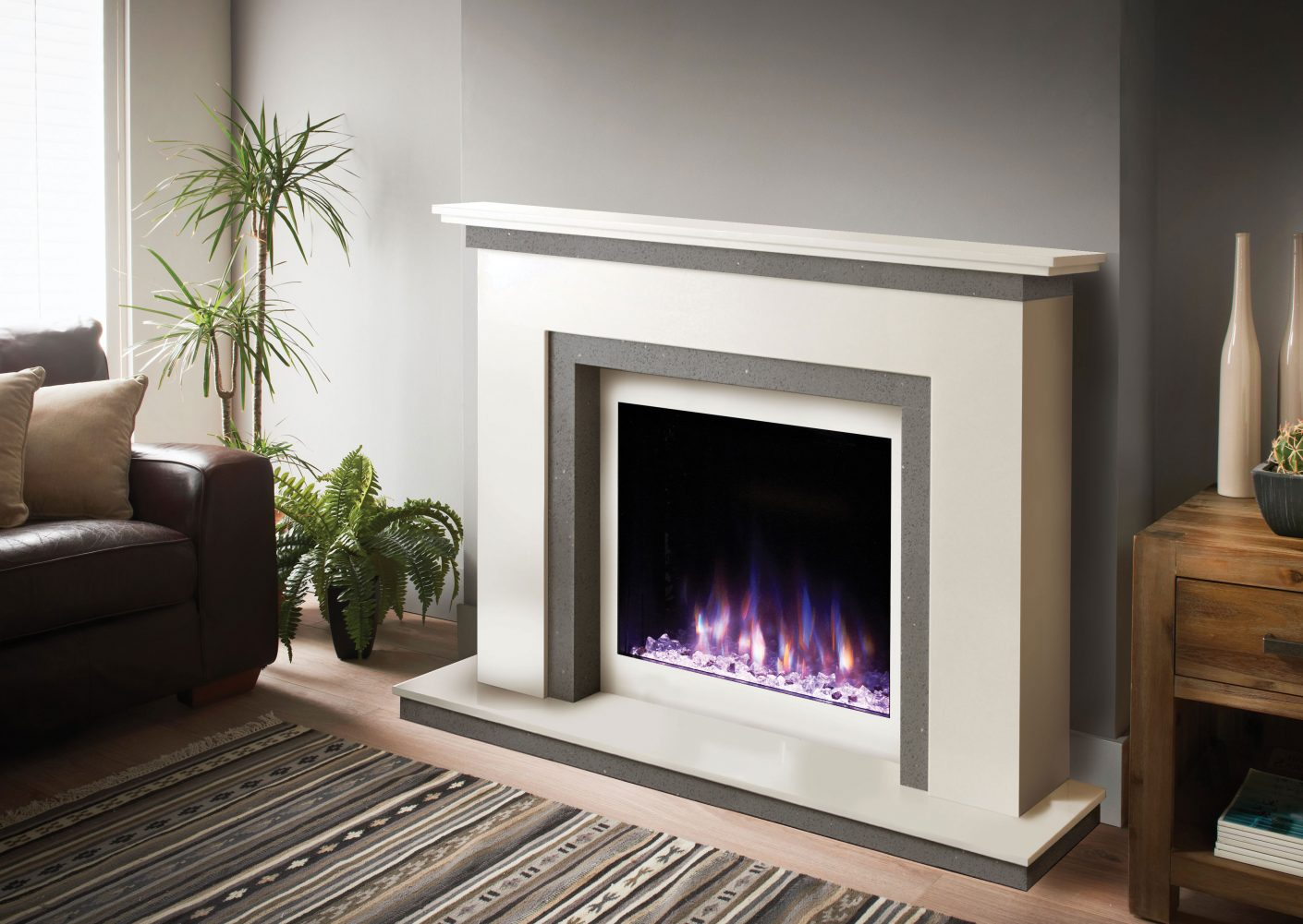 classic traditional fireplace