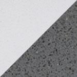 Polar White / Grey Quartz