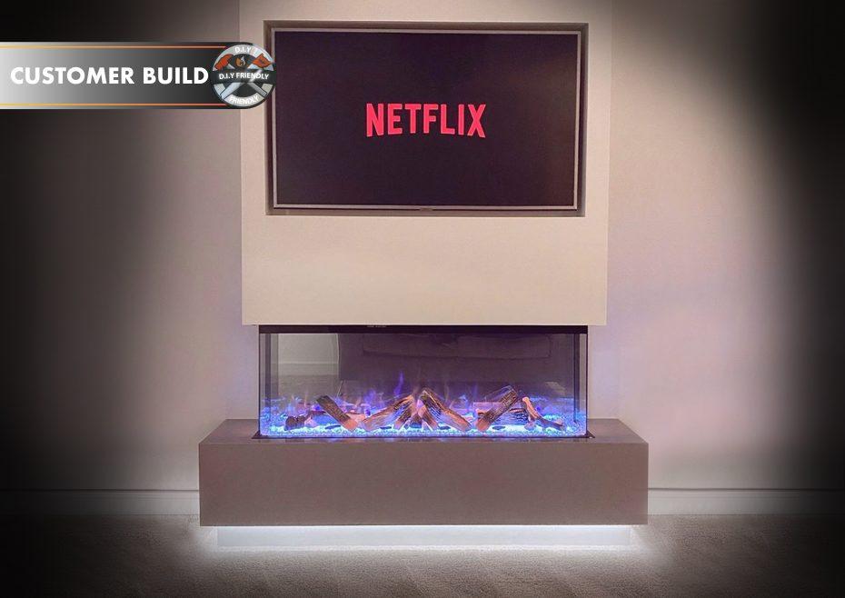 Customer Image - Fireplace 1250 HD+