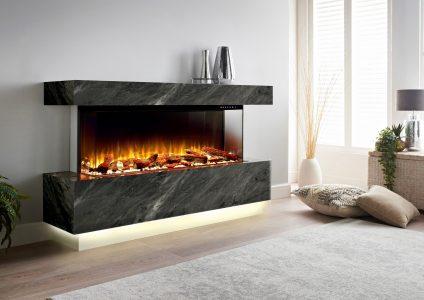 Scatola-Black-Relvena- electric fire