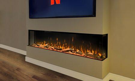 Bespoke Fireplace 2000 HD+ Panoramic