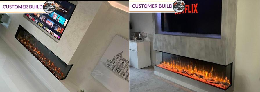 Fireplace Factory - Customer Bespoke Panoramic