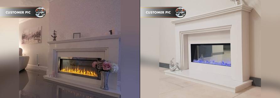 Fireplace Factory - Customer Bespoke Builds